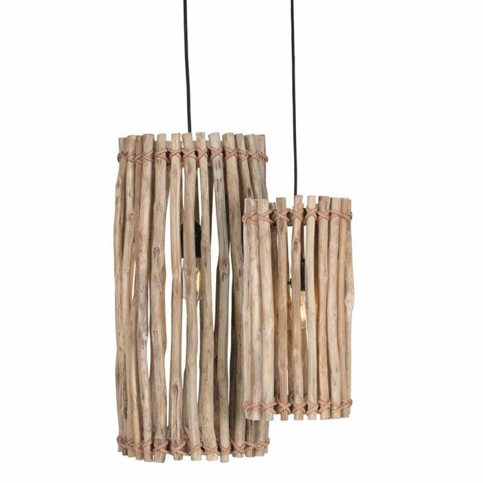 Ideen Aus Treibholz treibholz le diy ideen lenschirm aus holz lambalar