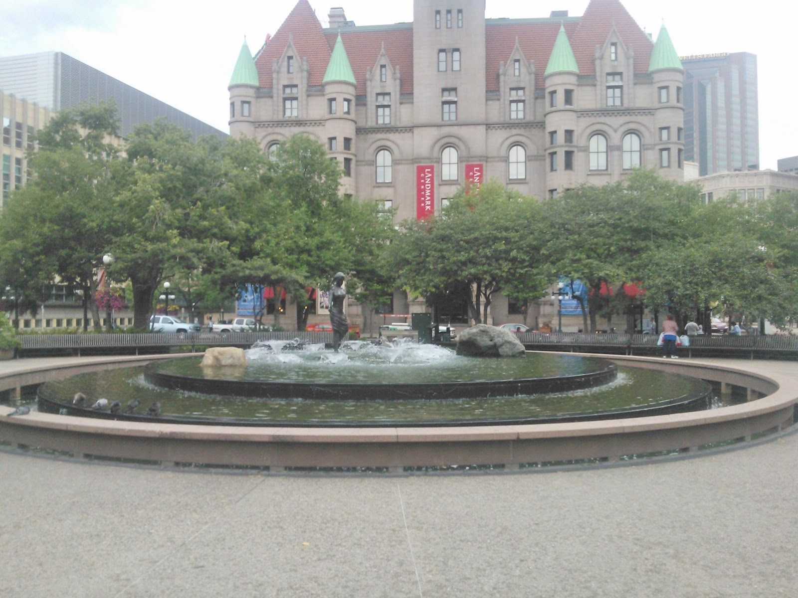 Now  Rice Park Fountain