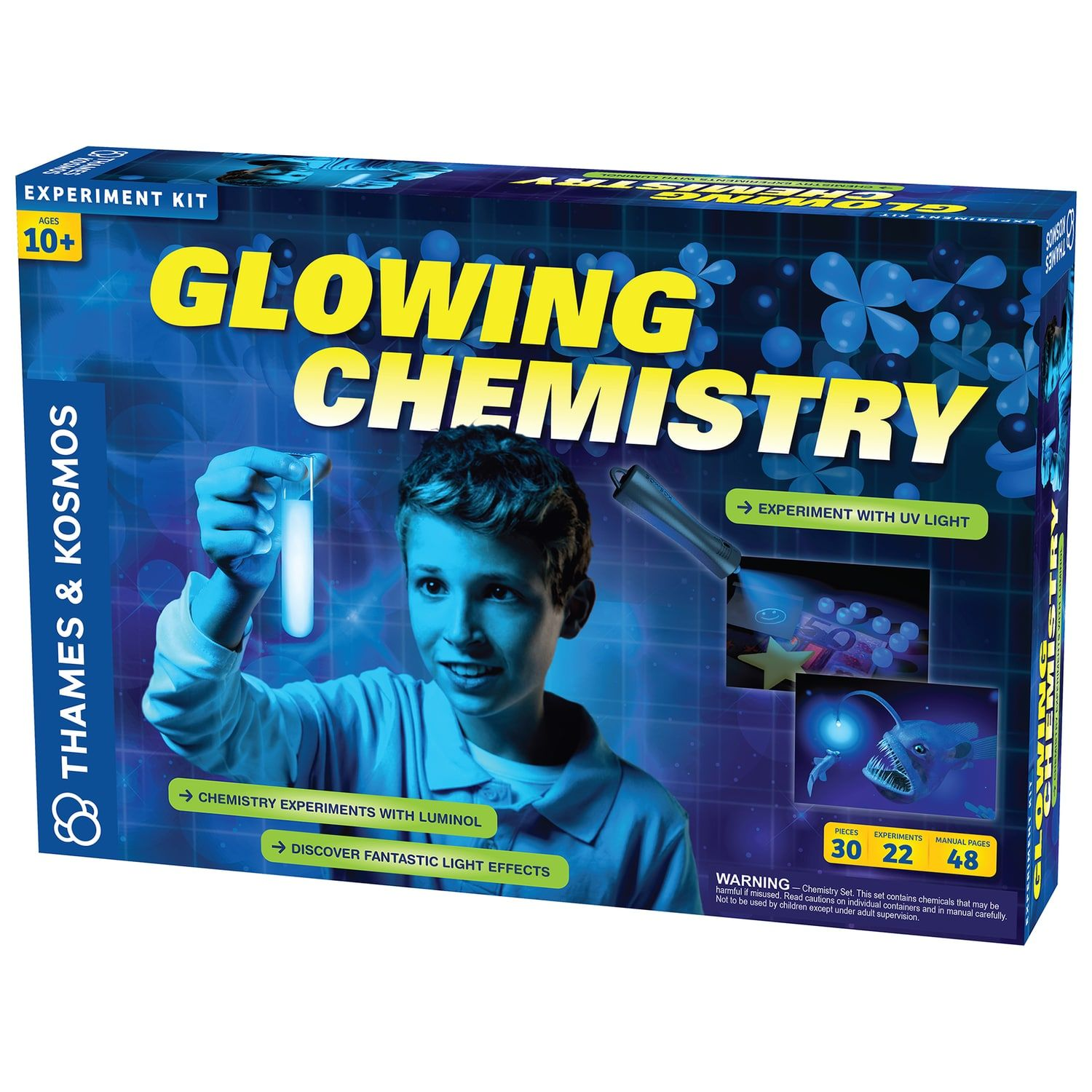 Thames Amp Kosmos Glowing Chemistry Experiment Kit