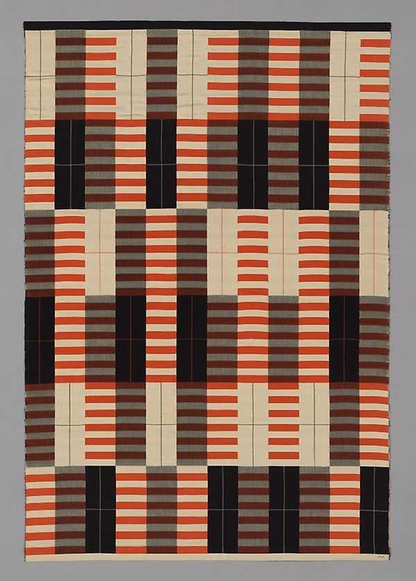 Orange, Black and White #textiledesign