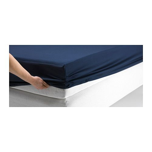 Dvala Fitted Sheet Ikea Fits Mattresses With A Thickness Up
