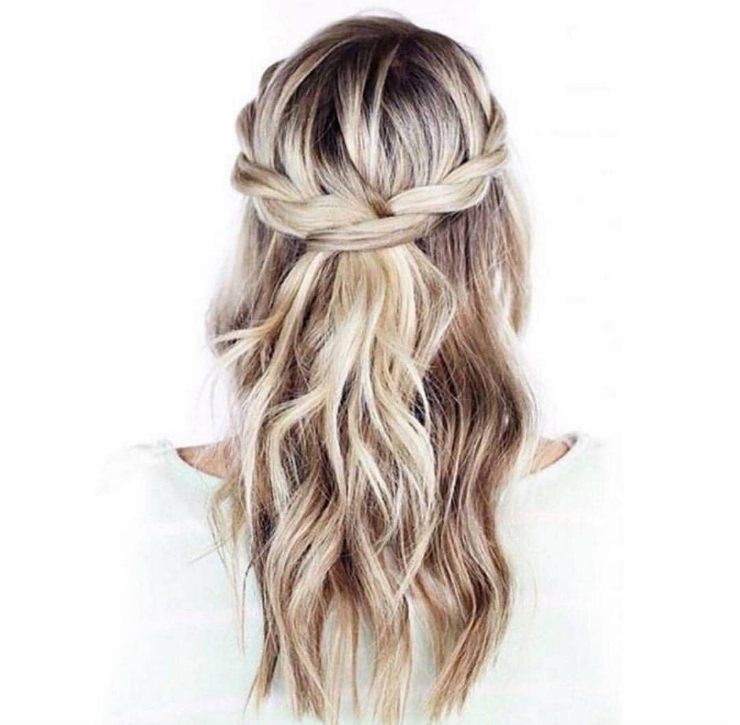 Braids | Hair | Pinterest | Bridal braids, Hair make up and Make up