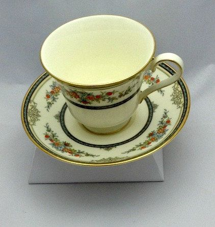 Fine Bone China Vintage Tea Cup and Saucer Minton by Pastfinds