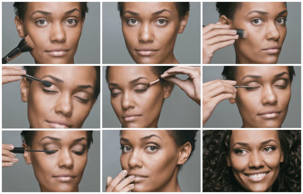 Amado tutorial de maquiagem para pele morena clara | Maquiagem Pele  NJ93