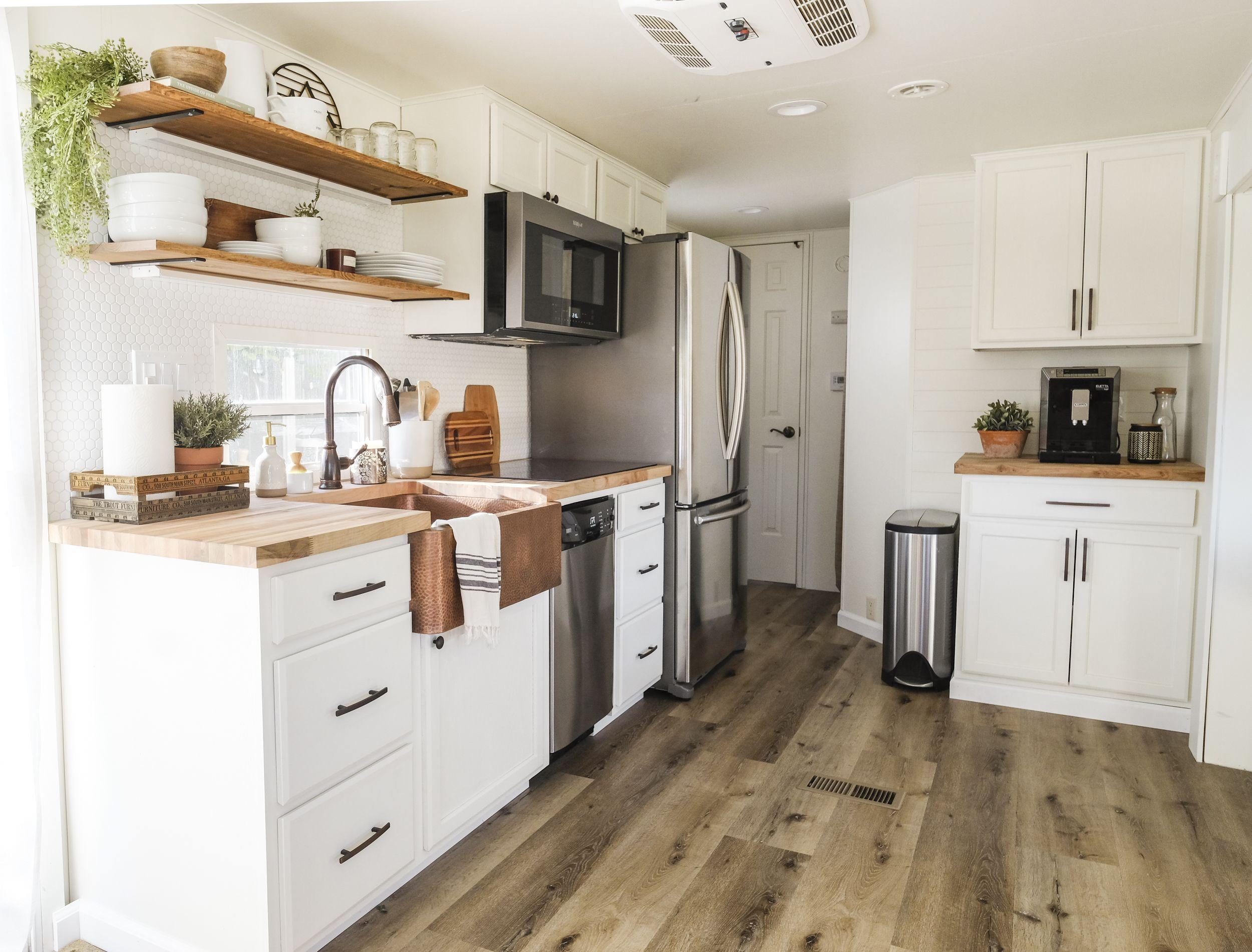 RV Kitchen Remodel Reveal   Rv kitchen remodel, Kitchen ...