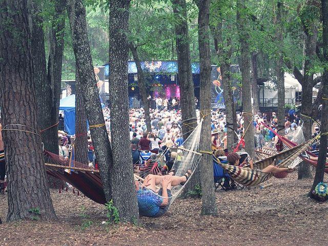 My kind of peeps.  Wanee Music Festival...Live Oak, Florida
