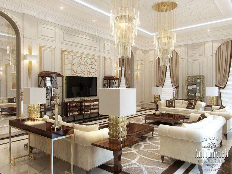 Read This Arabic Majlis Interior Design From Luxury Antonovich Mesmerizing Interior Design Ceiling Living Room Design Decoration