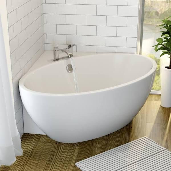 Smallest Slipper Bath 1300 Corner Bath Small Bathroom Free Standing Bath