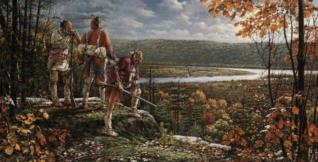 Guerras indias I Cuadros de nativos americanos, Arte