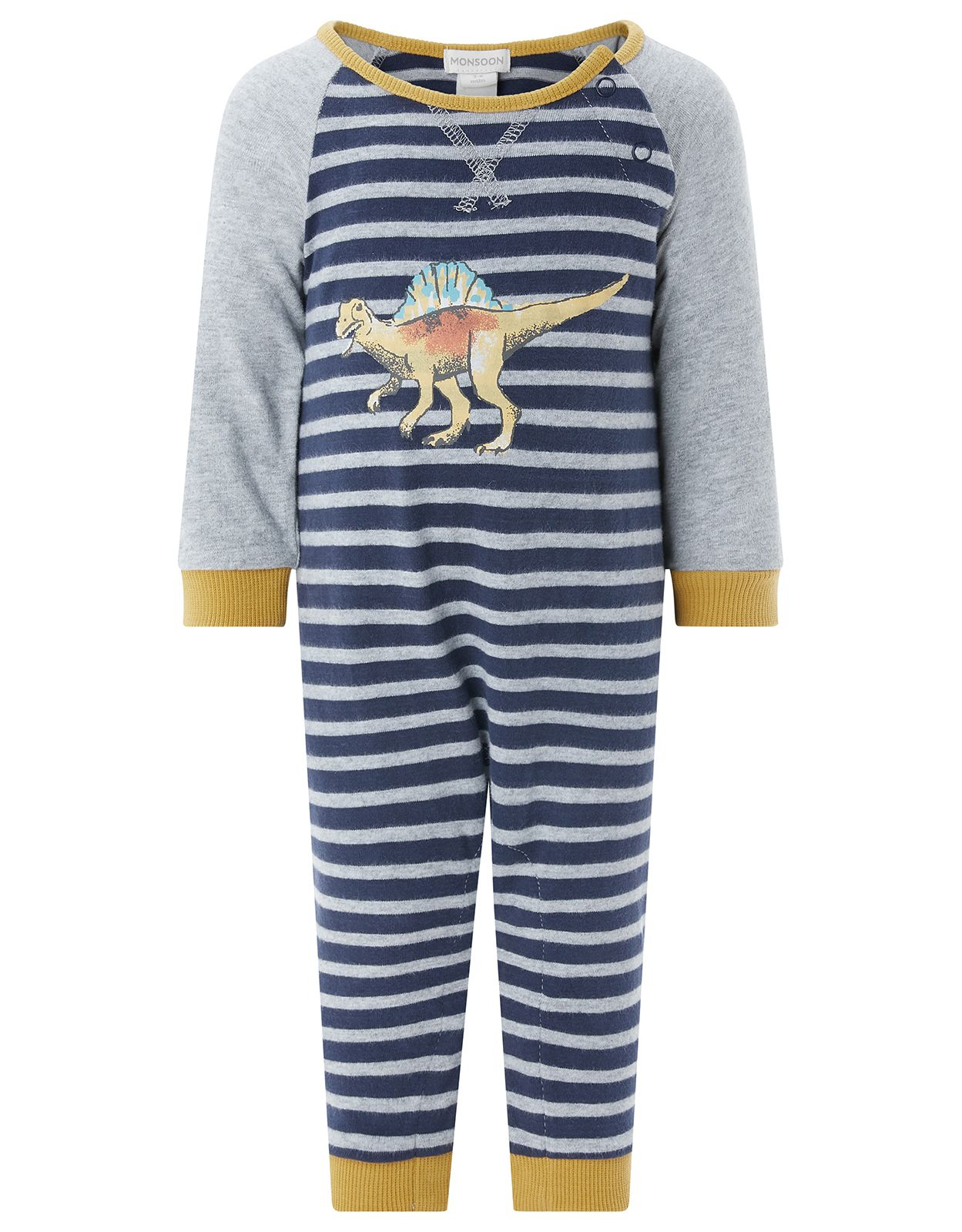 GRAPHIC DINOSAUR SLEEPSUIT See more at