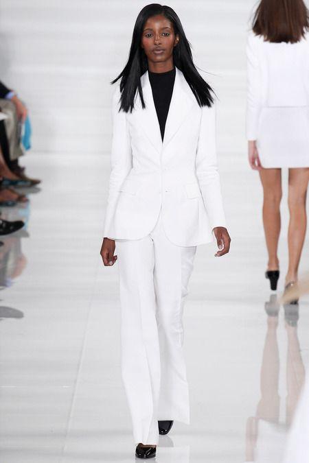 Ralph Lauren Spring/Summer 2014 #ralphlauren #nyfw #mbfw #springsummer #fashionweek #2014 #ss14 #fashion #catwalk #runway #fashionshow #model