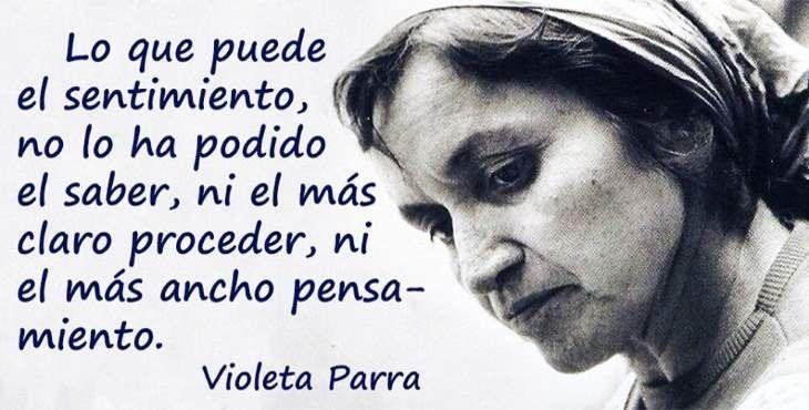 Natalicio De Violeta Parra Frases Violeta Parra Imagenes
