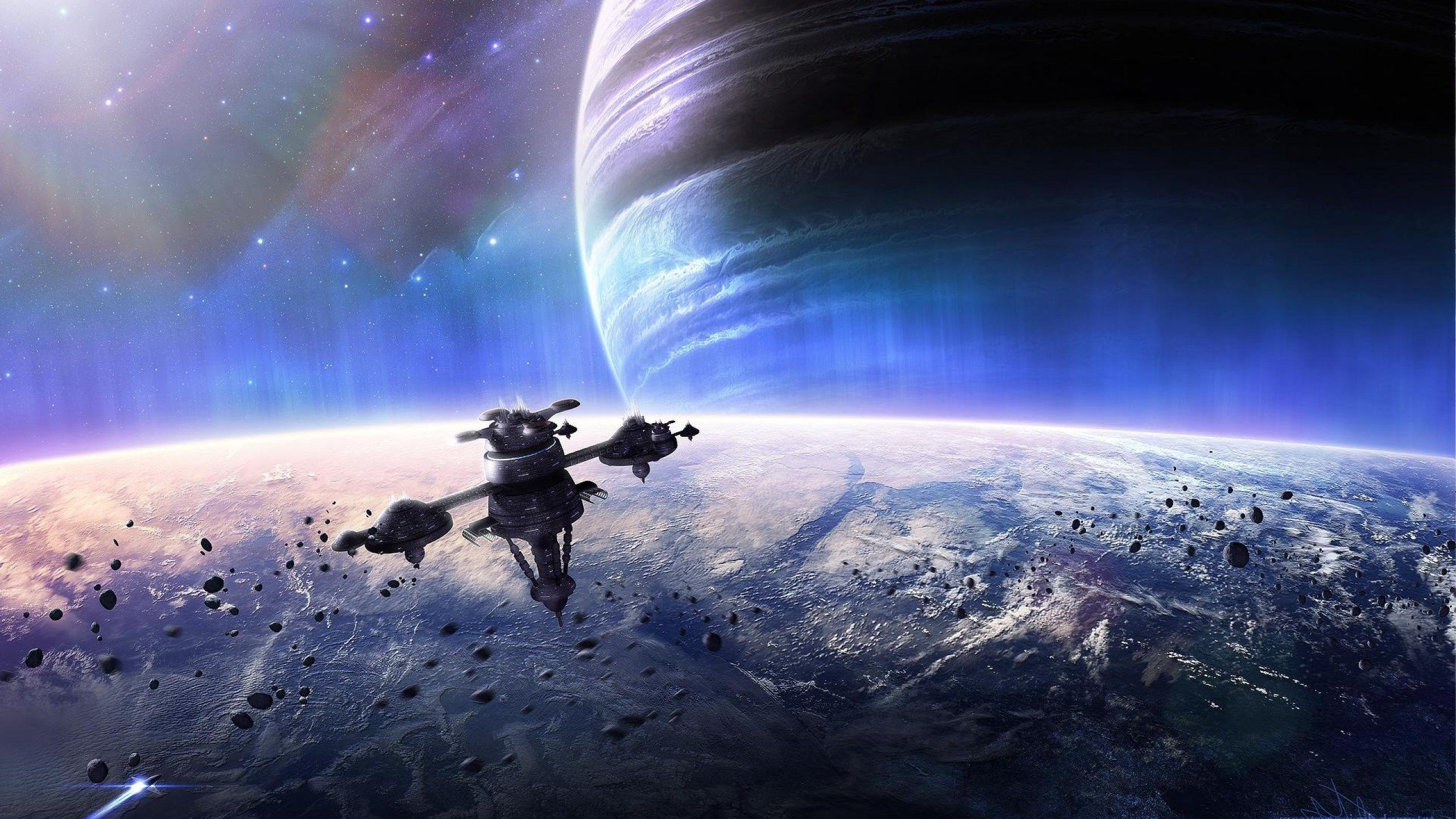 77+ Space Station Wallpapers on WallpaperPlay in 2019