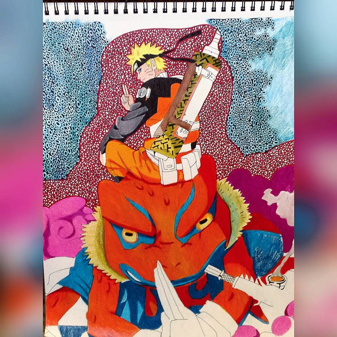 Naruto Toad ~ anime artwork @skent_art IG