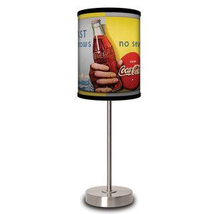 Coca-Cola Thirst Lamp now featured on Fab.