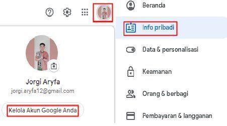Cara Mengganti Tanggal Lahir Akun Google Di Laptop atau Pc