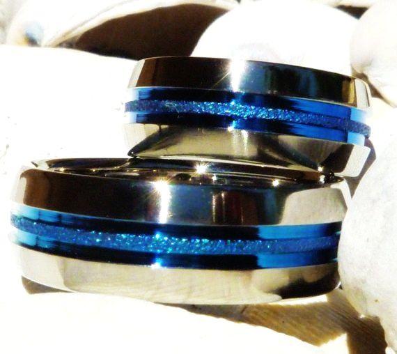 Thin Blue Line Tattoo Matching Thin Blue Line Titanium