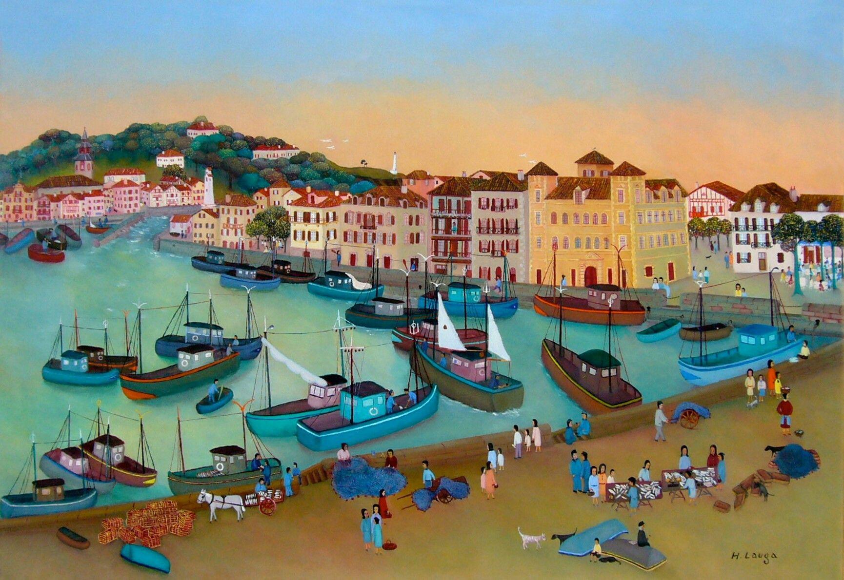 Henri Lauga Port de Saint Jean de Luz