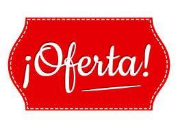 1274148e4 Cartel Oferta listo para imprimir #Comercio #Oferta #Rebajas ...