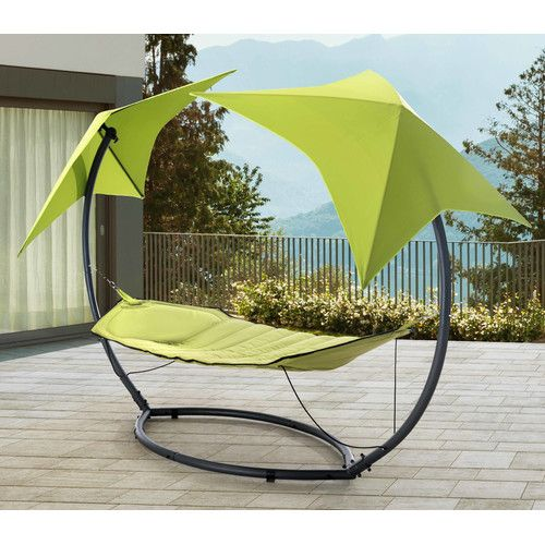 Found It At Wayfair Jedicke Skylight Polyester Hammock With Stand Hammock With Canopy Patio Outdoor