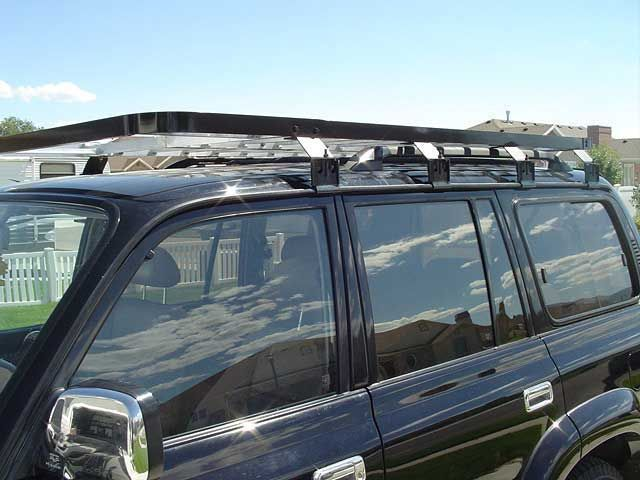 Home Made Roof Rack. Roof RackLand CruiserTruck