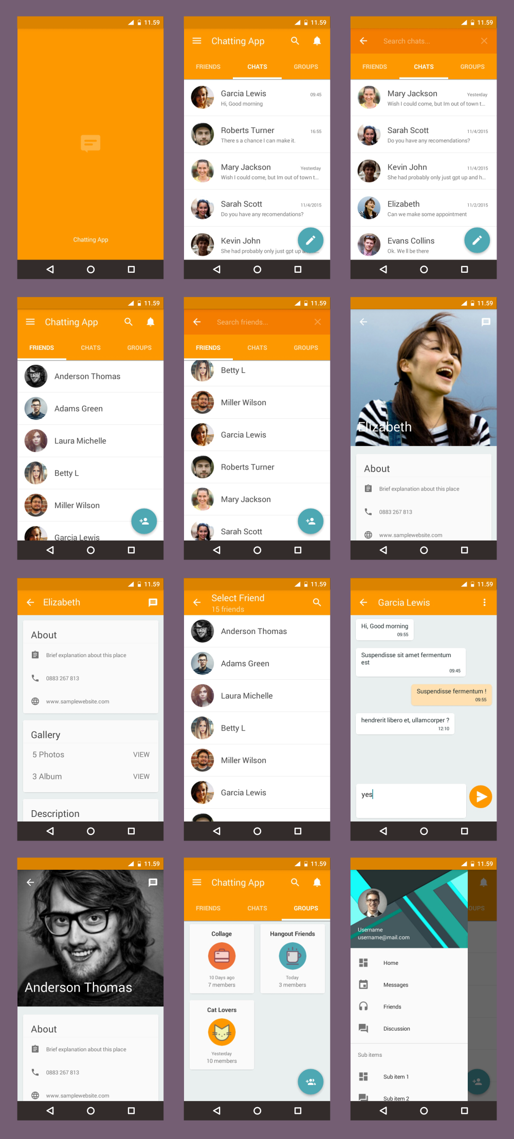 android material ui template 4 0 ui design pinterest ui