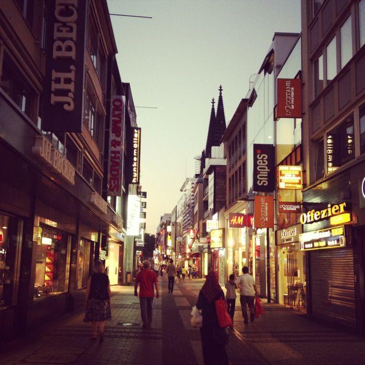 Hohe Straße , город Köln, Nordrhein-Westfalen