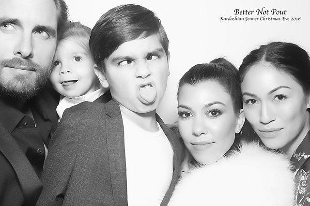 Merry Christmas From My Modern Family To Yours Kourtney Kardashian Kourtney Kardashian