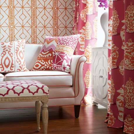 Elegant The Dana Gibson Collection. Pink FabricInterior ...