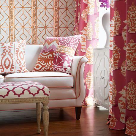 Elegant The Dana Gibson Collection. Pink FabricInterior ...
