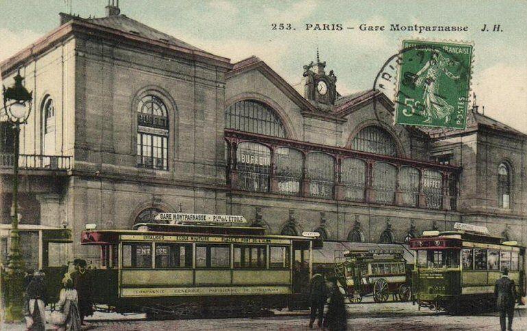 La gare montparnasse paris 15 me paris pinterest paris - Gare montparnasse porte maillot ...