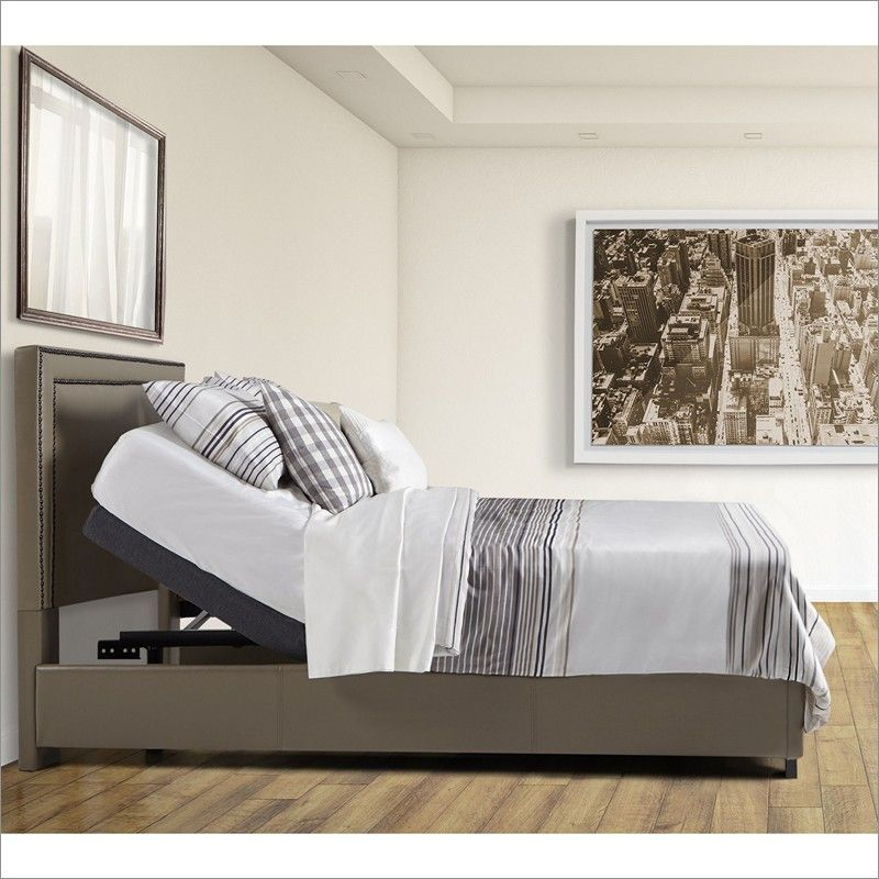 Rize Edge Ht Adjustable Bed Base With Wireless Remote Adjustable