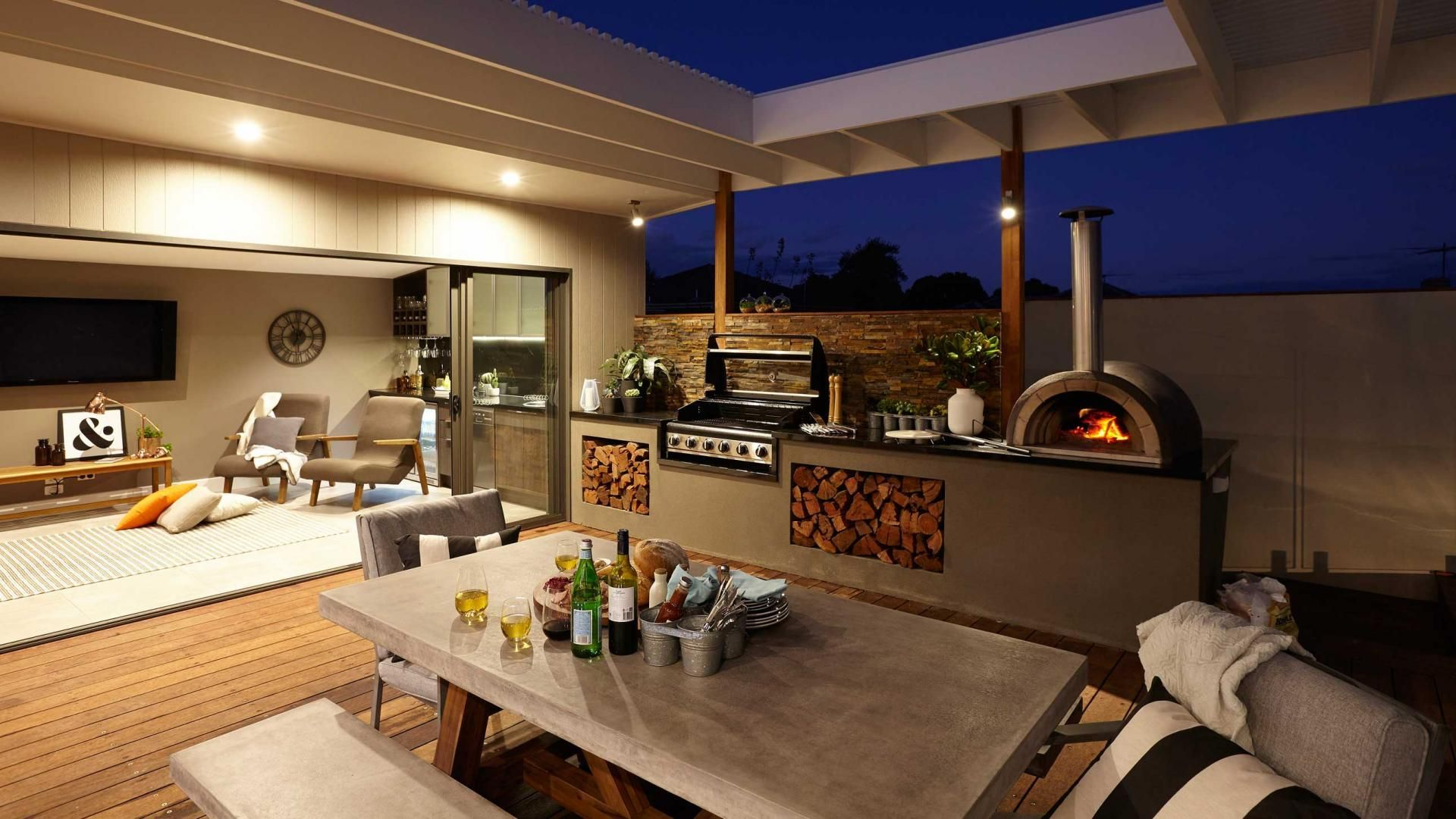 Image result for outdoor entertainment area ideas for ... on Small Backyard Entertainment Area Ideas id=49940