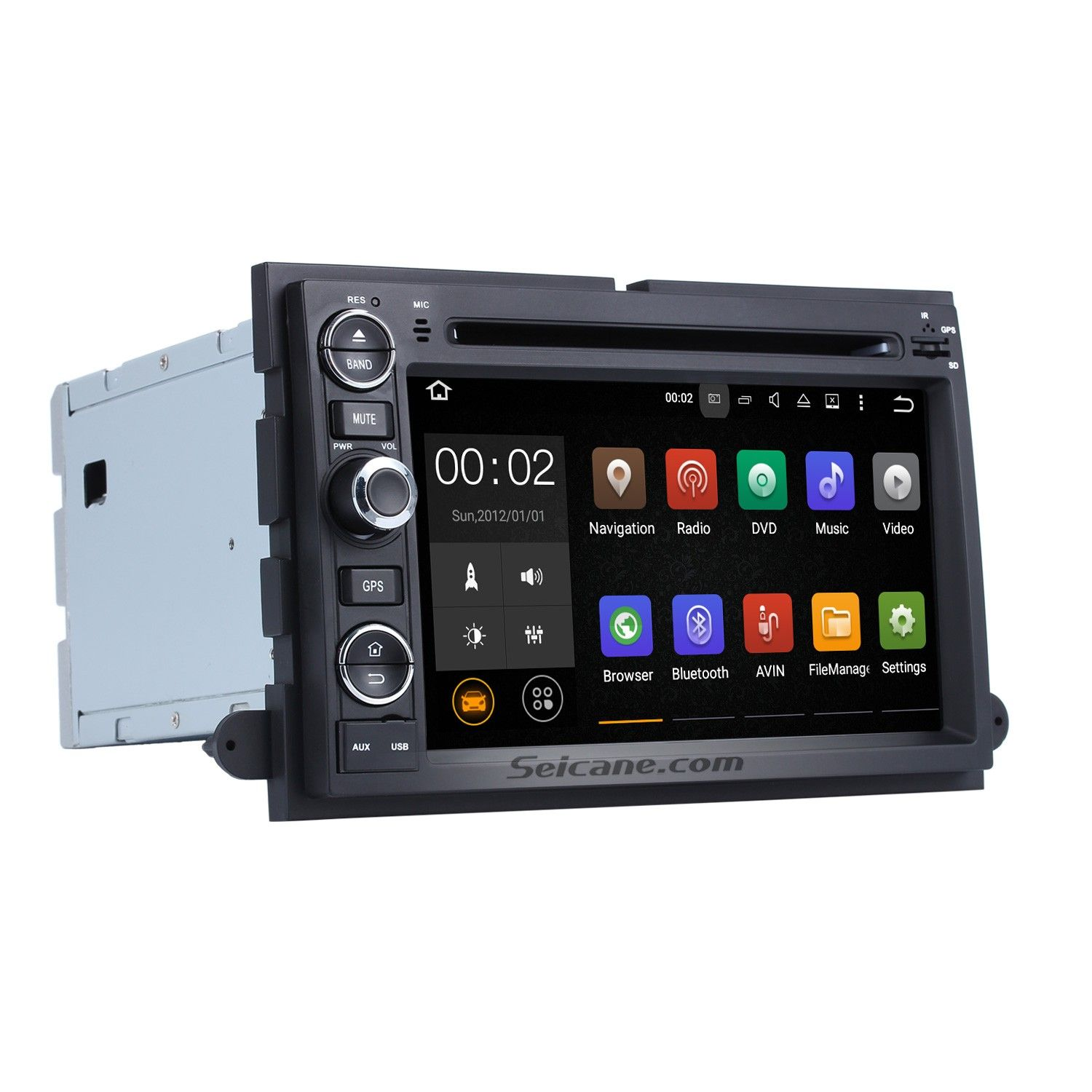 Seicane 2006 2009 Ford Expedition Android 7 1 Radio Gps Navigation System Dvd Player Hd 1024 600 Tou Gps Navigation Car Navigation System Gps Navigation System