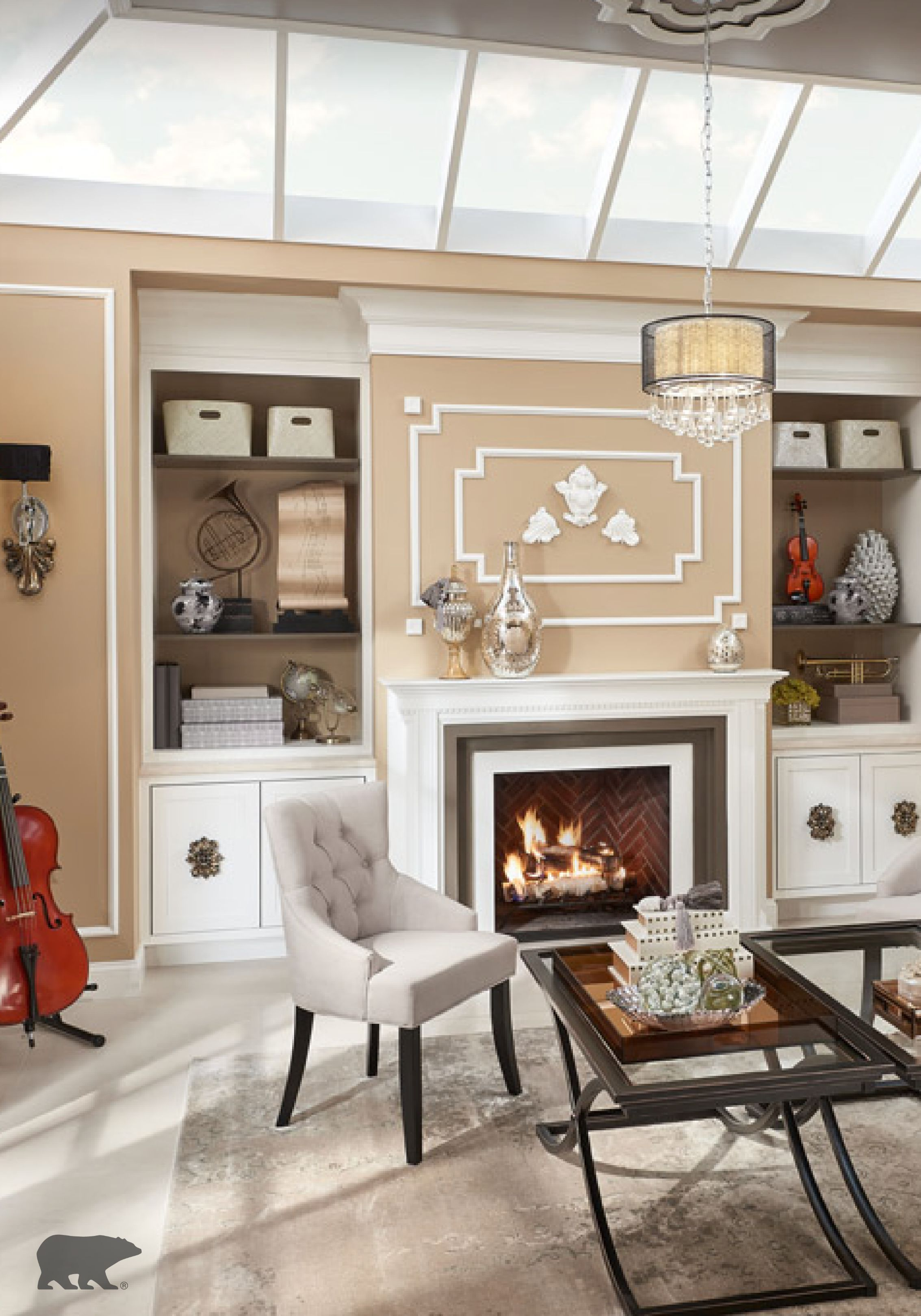 The 2016 behr color trends include a stunning neutral - Interior paint color combinations ...