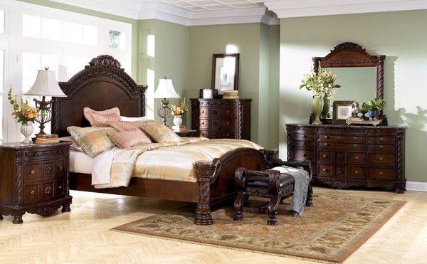 Ashley North Shore B553 Panel King Bedroom Set - Bedroom - Triad