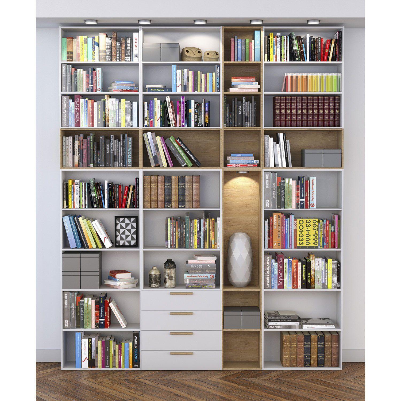 Matiere Principale Panneau De Particules Agglomerees Revetu Feuille Decor Avec Images Bibliotheque Ikea Bibliotheque Bibliotheque Chambre