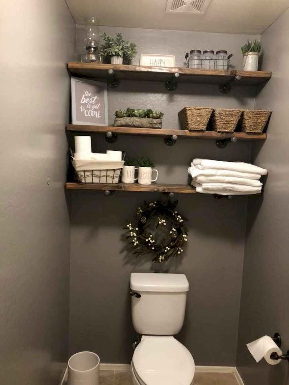 9 Charming And Natural Rustic Bathroom Design Ideas: 80 Affordable Rustic Bathroom Storage Ideas