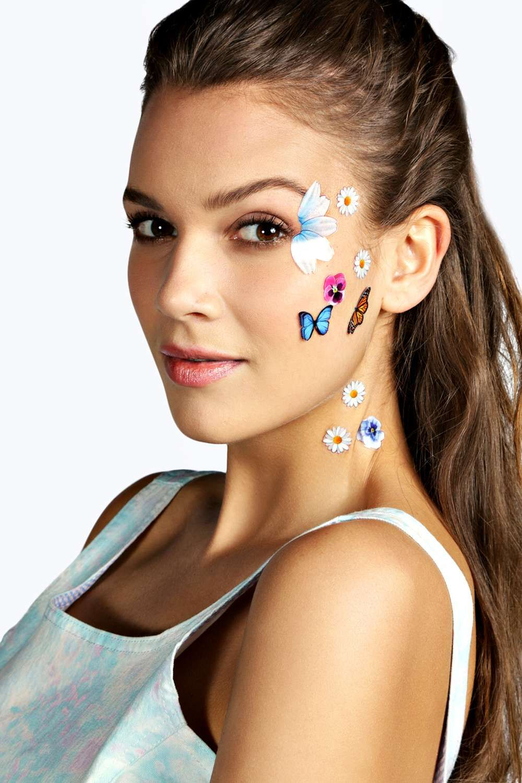 3D Face Stickers alternative image | festival wants | Face