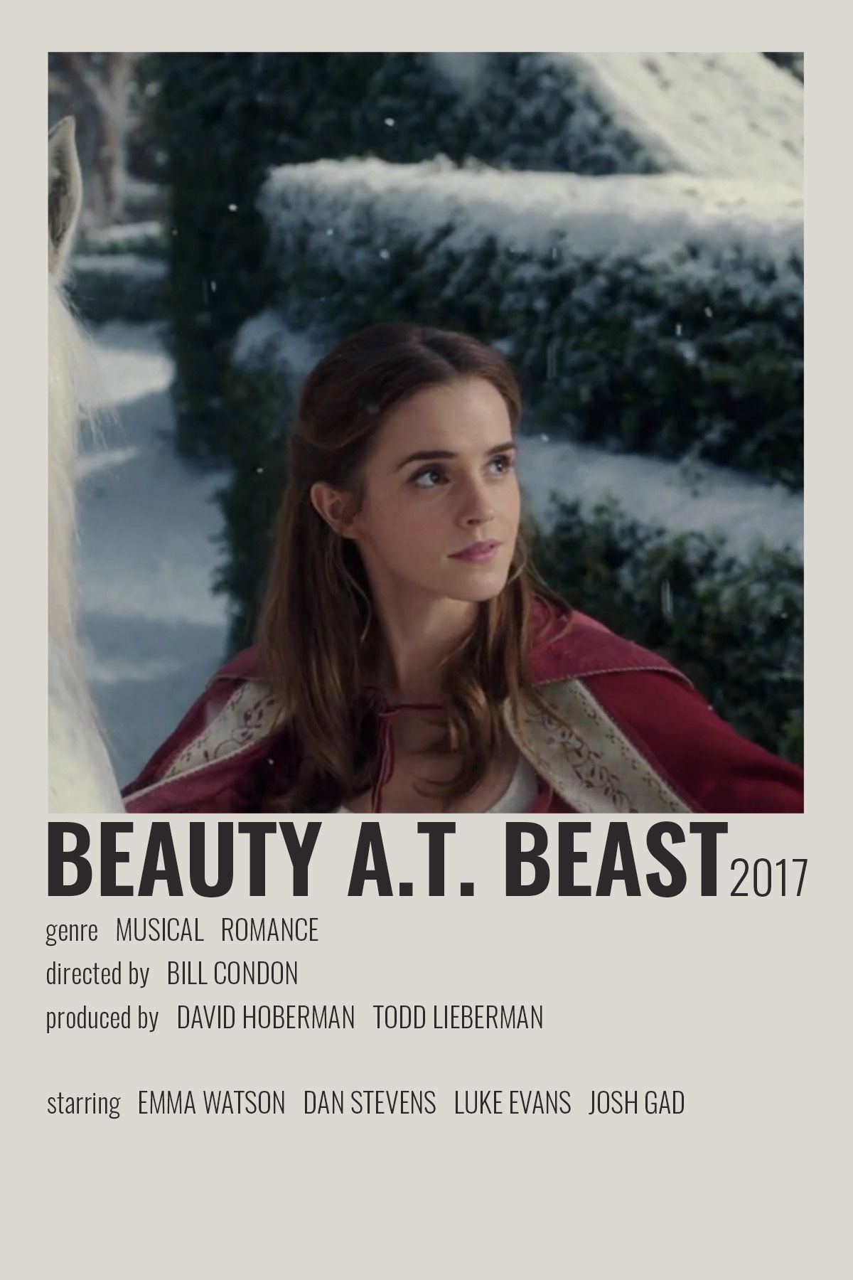 Beauty And The Beast by cari