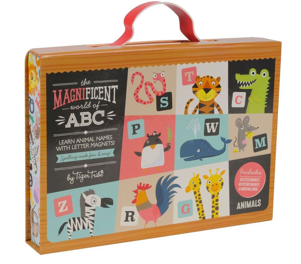 Details about Magnificent World of ABC by Tiger Tribe