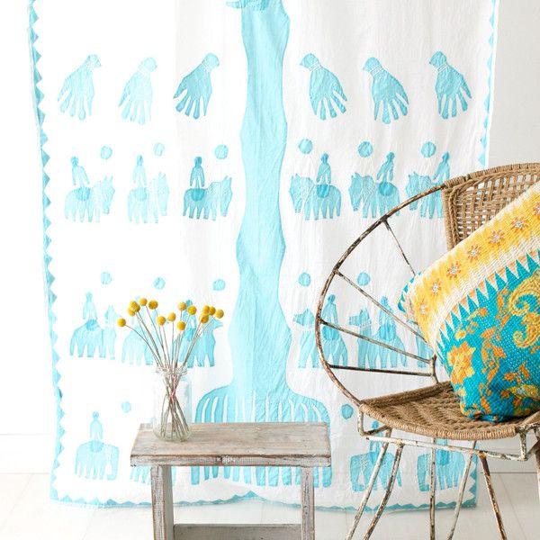 Flower Curtain, Curtains, Cozy
