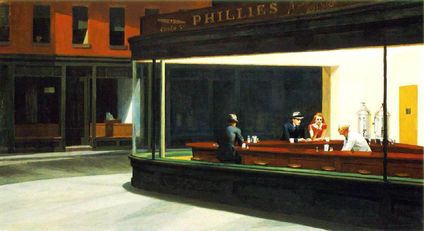 Edward Hopper - Noctambules