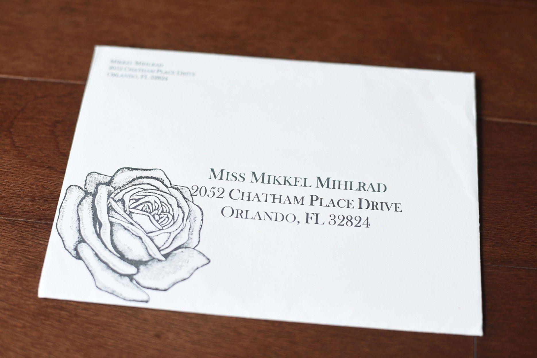 30 Address Etiquette Invitation Return Wedding | Wedding Invitation ...