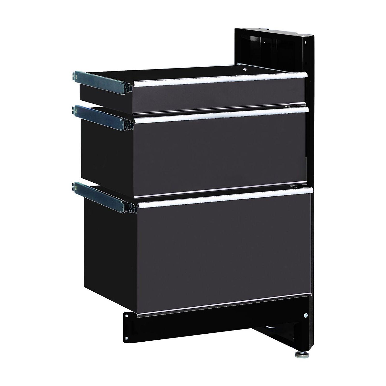 Craftsman 3 Drawer Workbench Module Black Platinum Workbench Outdoor Storage Box Craftsman