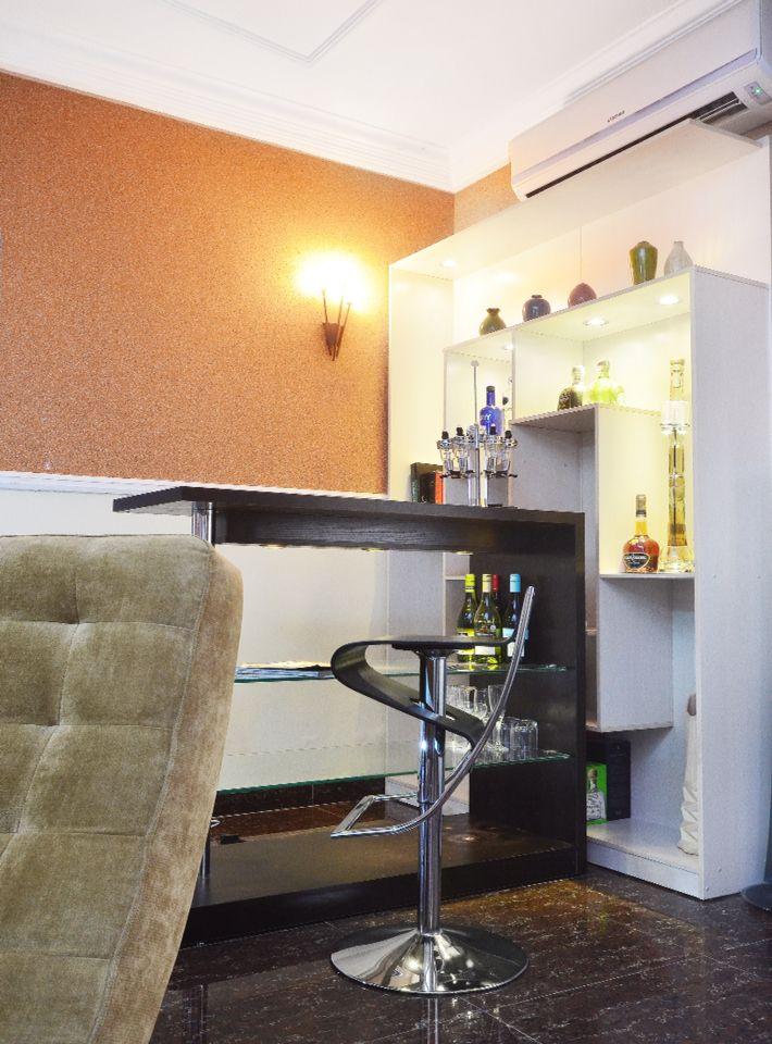 Living Room Bar Design And Decor By Us Project For Residential Home Interior In Lagos Nigeria
