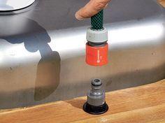 Outdoor Küche Diy : Garten waschbecken holzarbeiten küche bauen