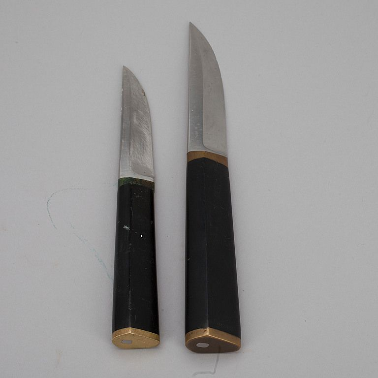 puukko tapio wirkkala hackman finland formgiven 1961 two different seizes one for him and. Black Bedroom Furniture Sets. Home Design Ideas