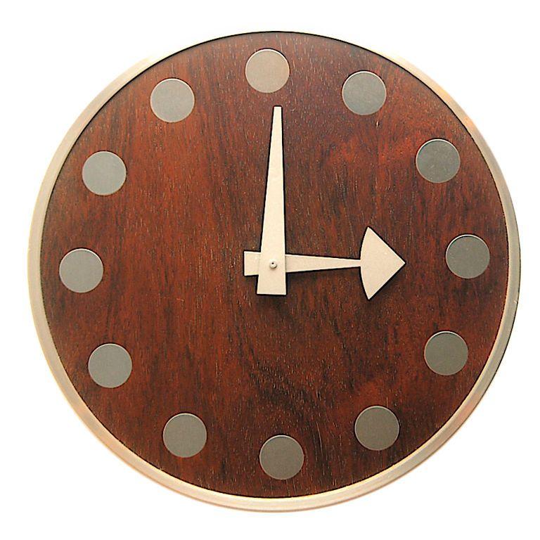 Arthur Umanoff Meridian Wall Clock Howard Miller Relojes De Pared Reloj De Pared Reloj