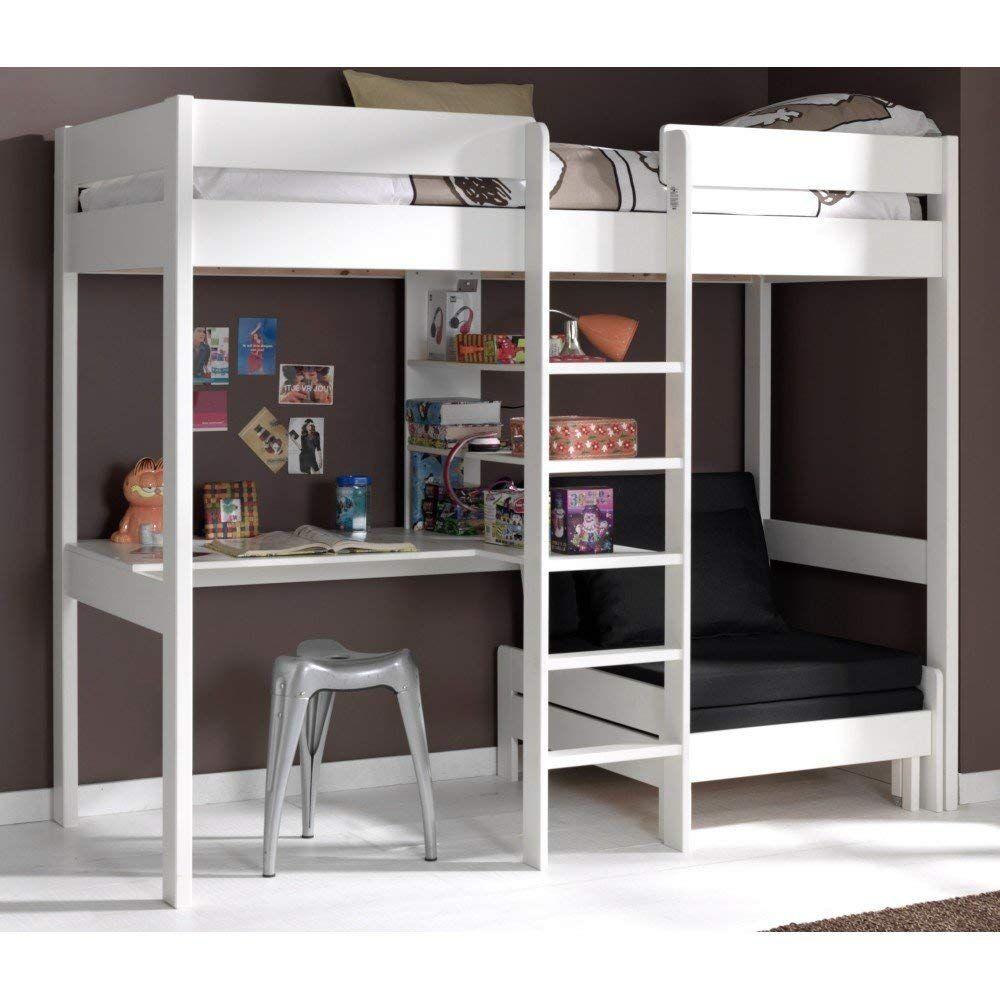 Stunning Photo Lit Mezzanine 2 Places Avec Canape Lit High Sleeper Bed Loft Bed High Sleeper